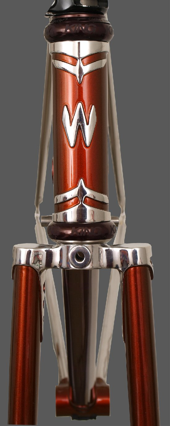 Empire Lugs - Head Tube Front