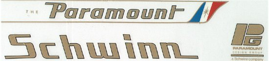 Paramount Elite Decals 1980-3